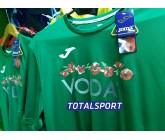 Футболка Joma Combi 100052.450 зеленая ПРИМЕР с логотипом