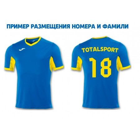 Акци! Хит! Футболка Joma CHAMPION IV 100683.709 пример фамилией и номером
