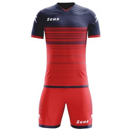 Футбольная форма Zeus KIT SOLAR RED/DARK GREY