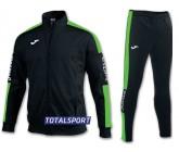 Спортивный костюм Joma CHAMPION IV 100687.117 черно-зеленый