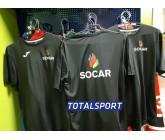 Футболка Joma Combi 100052.100 черная ПРИМЕР с логотипом