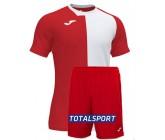 Футбольная форма(футболка+шорты) Joma CITY 101546.602 красно-белая