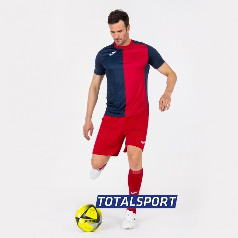 Футбольная форма(футболка+шорты+гетры) Joma CITY 101546.336 сине-красная