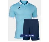 Футбольная форма(футболка+шорты) Joma GOLD II 101473.352 бирюзовая