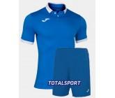 Футбольная форма(футболка+шорты) Joma GOLD II 101473.702 голубая