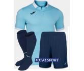 Футбольная форма(футболка+шорты+гетры) Joma GOLD II 101473.352 бирюзовая