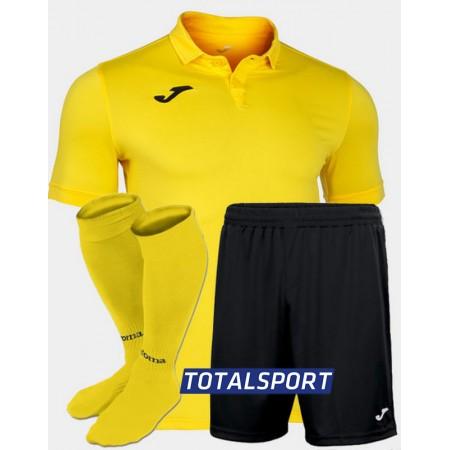 Футбольная форма(футболка+шорты+гетры) Joma GOLD II 101473.900 желтая