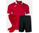 Футбольная форма(футболка+шорты+гетры) Joma GOLD II 101473.602 красная