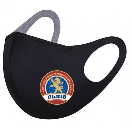 Маска с логотипом ФК Львов