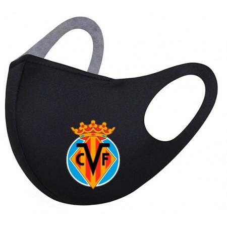 Маска с логотипом ФК Вильярреал
