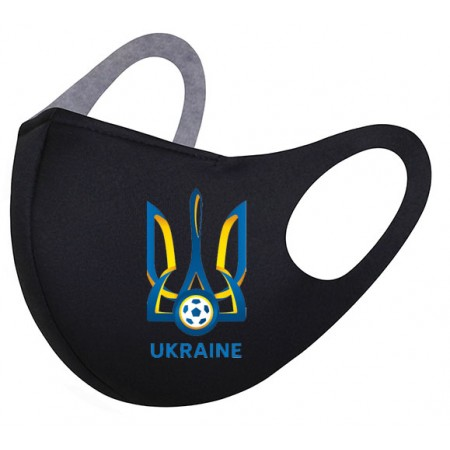 Акция! Маска с логотипом ФК Украина