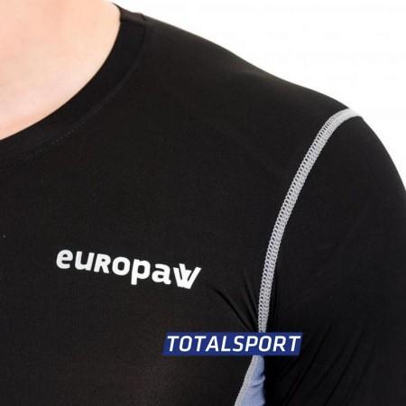 Акция! SuperХит! Футболка компрессионная LS Europaw PRO черно-серая