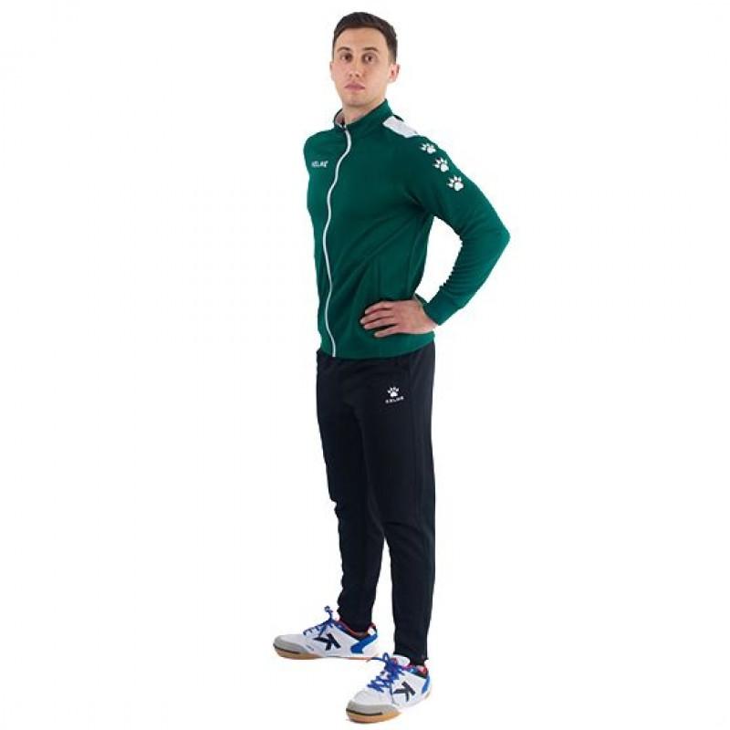 Костюм спортивний дорослий  зелено-чорний  ACADEMY 3771200.9311 Kelme