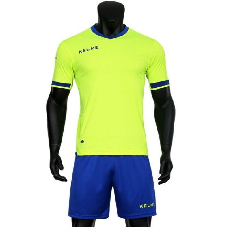 Комплект футбольньої форми ALAVES салатово-синій  к/р  K15Z212.9915 Kelme