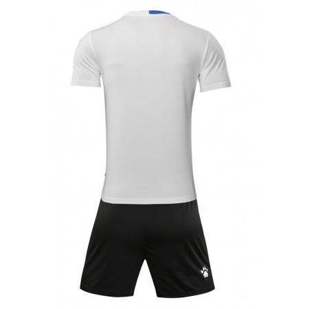 Комплект футбольньої форми   біло-синій к/р дитячий   ALICANTE JR  3883020.9104 Kelme