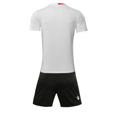 Комплект футбольньої форми   біло-червоний к/р дитячий   ALICANTE JR  3883020.9107 Kelme