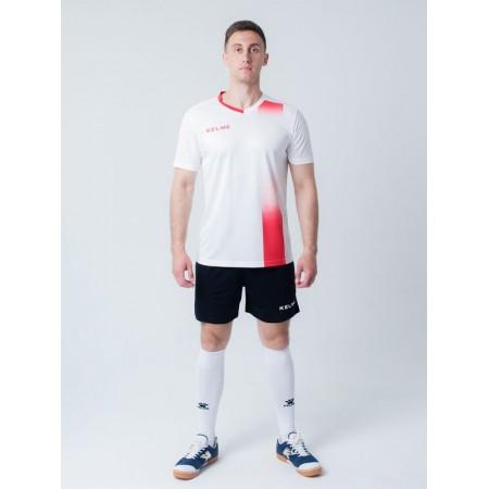 Комплект футбольньої форми біло-червоний  к/р ALICANTE 3881020.9107 Kelme