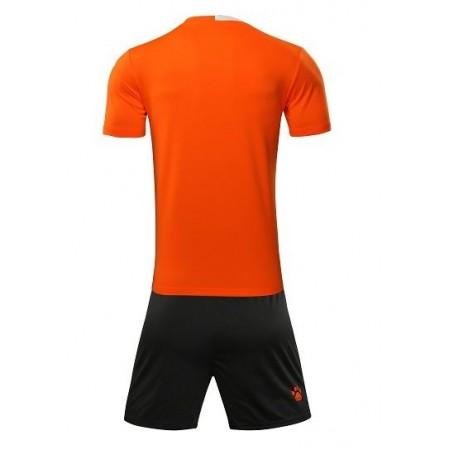 Комплект футбольньої форми оранжево-білий  к/р дитячий    ALICANTE JR  3883020.9910 Kelme