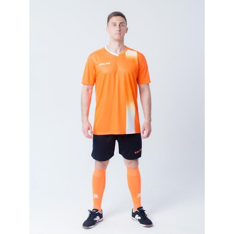 Комплект футбольньої форми оранжево-білий к/р   ALICANTE 3881020.9910 Kelme