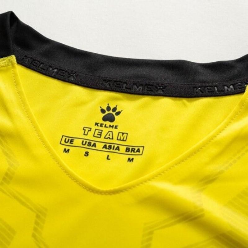 Комплект футбольньої форми  жовто-чорний  к/р 3891049.9712 Kelme