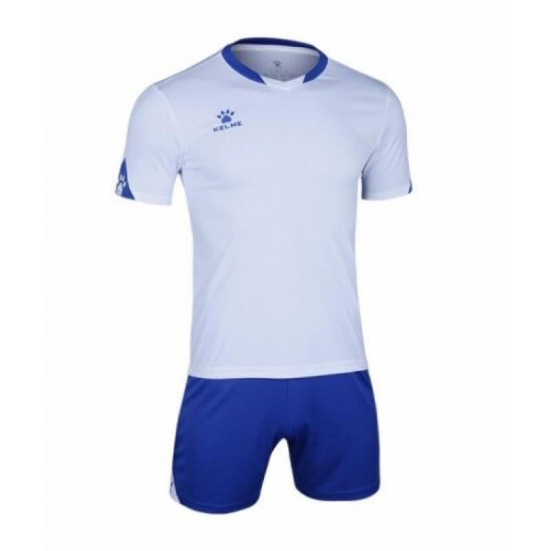 Комплект футбольньої форми біло-сині  к/р  3801099.9104 Kelme