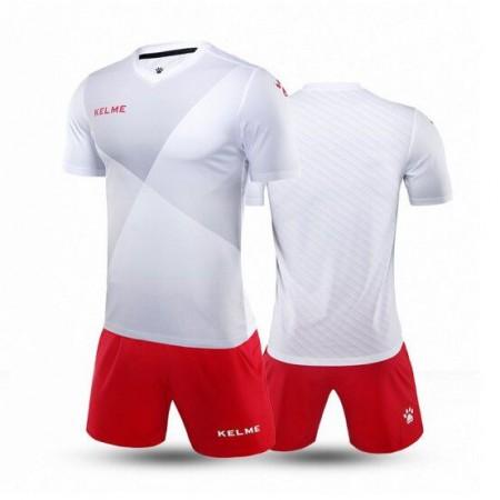 Комплект футбольньої форми  біло-червоний к/р LIGA 3981509.9107 Kelme