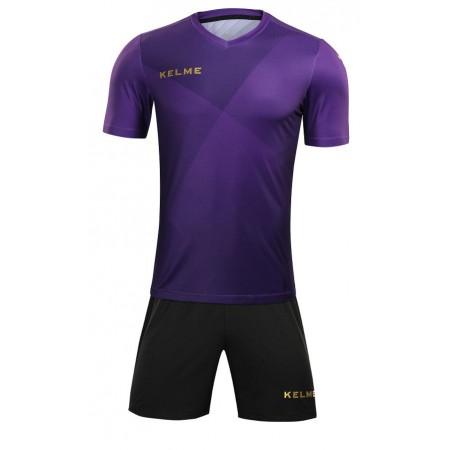 Комплект футбольньої форми  фіолетово-золотий  к/р LIGA 3981509.9527 Kelme