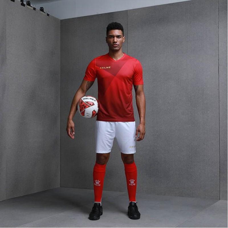 Комплект футбольньої форми червоно-золотавий к/р LIGA 3981509.9660 Kelme