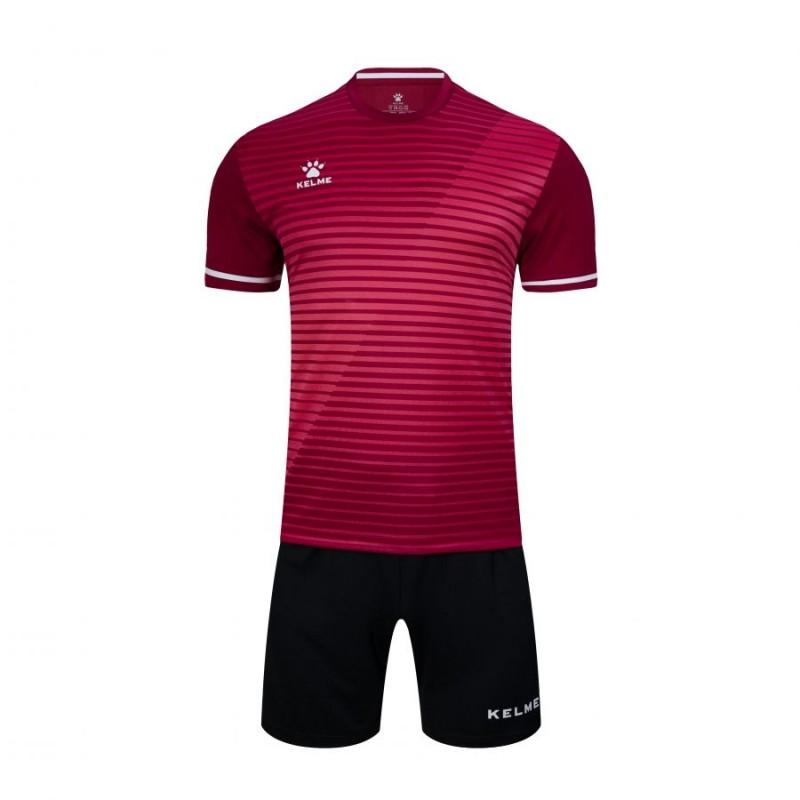 Комплект футбольньої форми бордово-чорний к/р 3801169.9691 Kelme