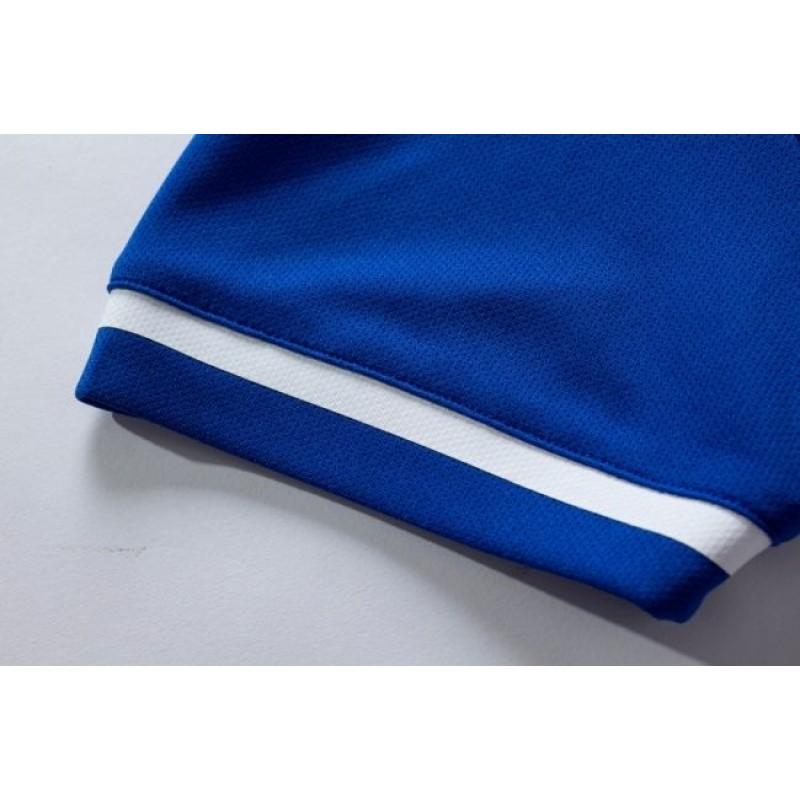 Комплект футбольньої форми синьо-т.синій  к/р  дитячий 3803169.9409 Kelme