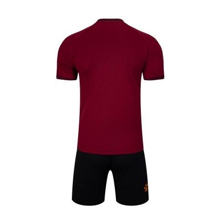 Комплект футбольньої форми бордово-оранжевий  к/р  3801096.9684 Kelme