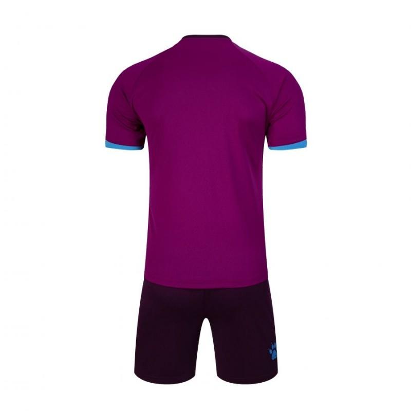 Комплект футбольньої форми фіолетово-білий  к/р  3801096.9508 Kelme