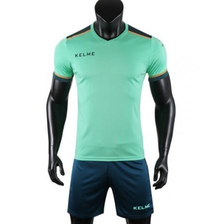 Комплект футбольньої форми  мятно-зелений к/р дитячий SEGOVIA JR 3873001.9328 Kelme