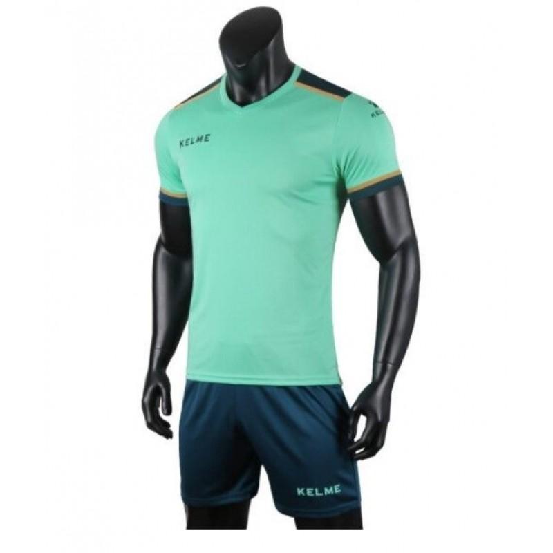 Комплект футбольньої форми  мятно-т.зелений к/р SEGOVIA  3871001.9328 Kelme