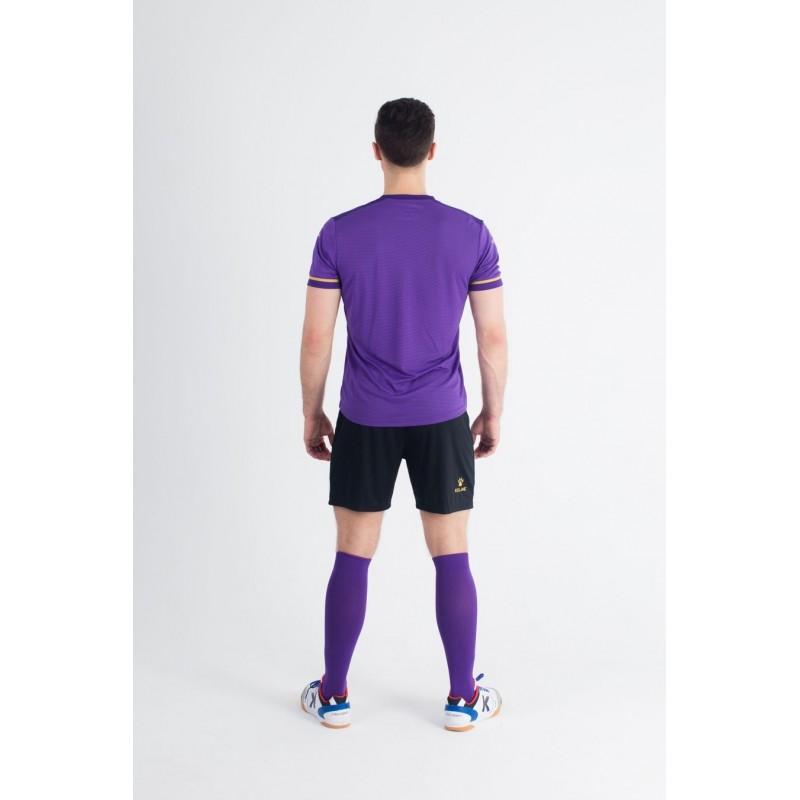 Комплект футбольньої форми  фіолетово-чорний к/р SEGOVIA 3871001.9510 Kelme