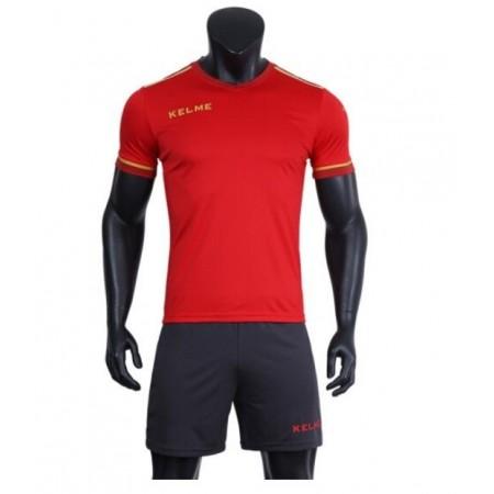 Комплект футбольньої форми  червоно-т.сірий к/р SEGOVIA  3871001.9667 Kelme