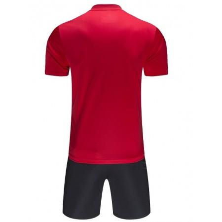 Комплект футбольньої форми VALENCIA JR   червоно-білий  к/р  дитячий 3893047.9610 Kelme