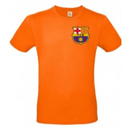 Футболка ФК Барселона оранжеая