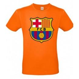 Футболка ФК Барселона(большой лого)