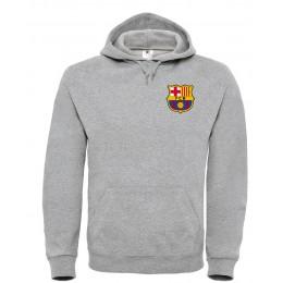 Худи ФК Барселона серый