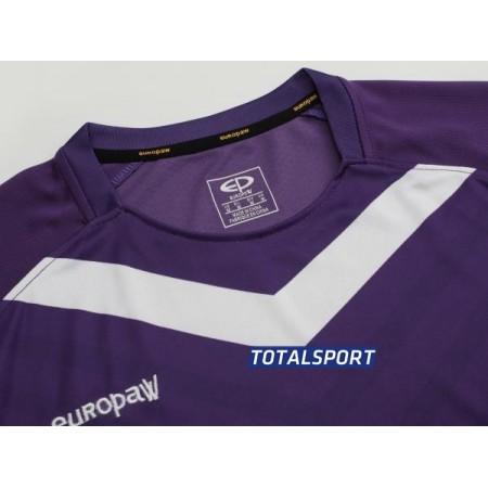 Футбольная форма Europaw 026 фиолетово-белая (футболка+шорты+гетры)