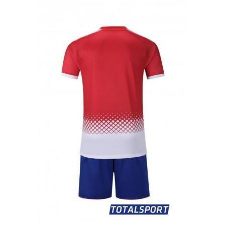 Футбольная форма Europaw 020 красная (футболка+шорты+гетры)