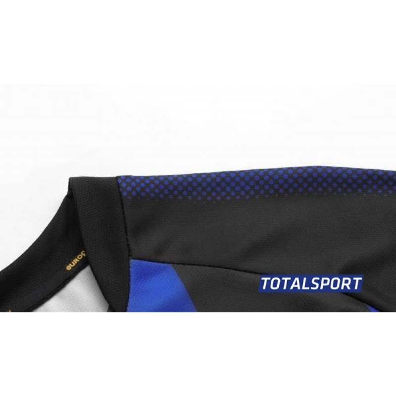 Футбольная форма Europaw 020 т-синяя(футболка+шорты+гетры)
