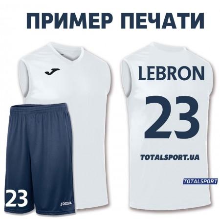 Баскетбольная форма Joma Combi 100436.200 белая