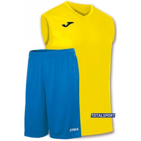 Баскетбольная форма Joma Combi 100436.900 желтая