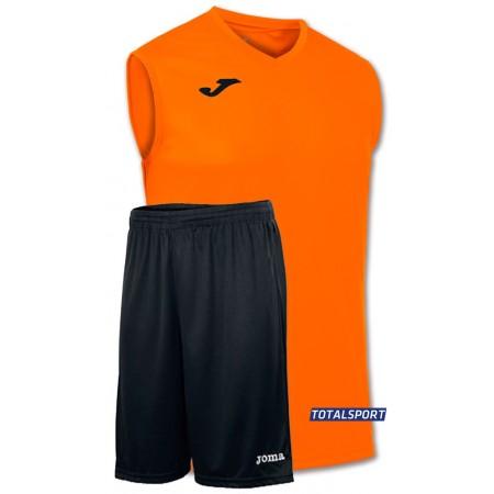 Баскетбольная форма Joma Combi 100436.880 светло-оранжевая