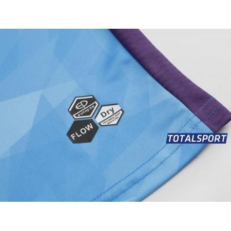Футбольная форма Europaw 027 голубо-белая(футболка+шоры+гетры)