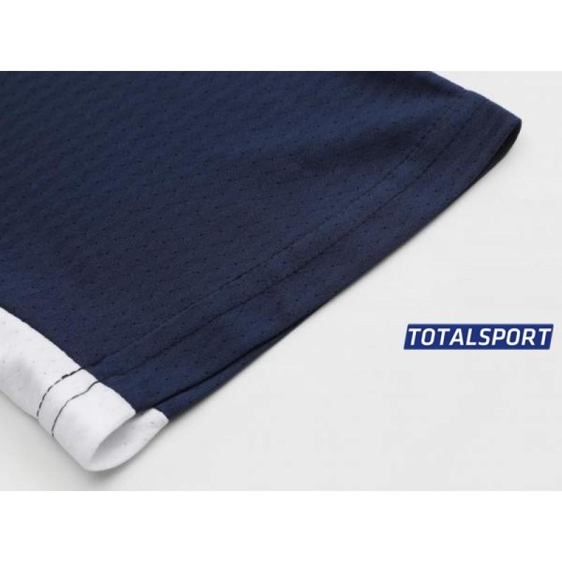 Футбольная форма Europaw 027 т.сине-синяя(футболка+шоры+гетры)