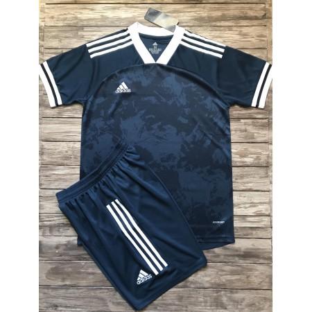 Футбольная форма Adidas 2020-2021 темно-синяя