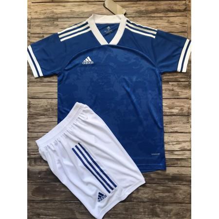 Футбольная форма Adidas 2020-2021 голубая